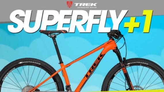Interesante oferta de bicicletas Trek en Uruguay Superfly