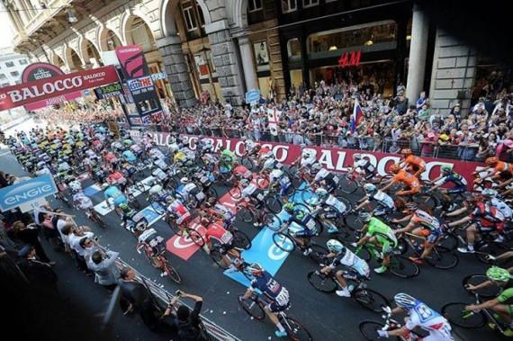 Los organizadores del Giro de Italia 2015 piden respeto al publico presente