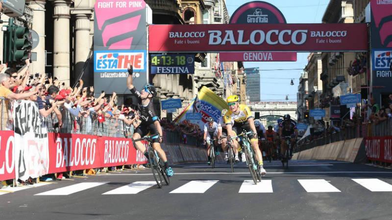 Mira como fue la segunda etapa del Giro 2015