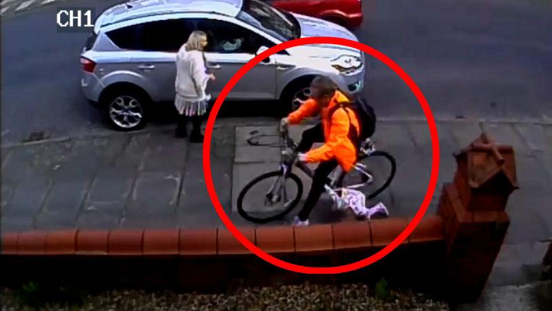 Sabes por que no se debe ir en bicicleta por la acera Lucie Wilding