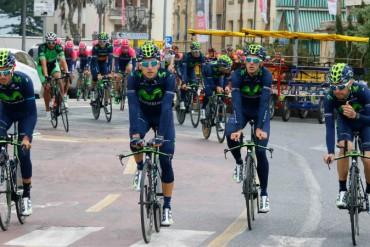 Vive la previa del Giro de Italia 2015 con el Team Movistar