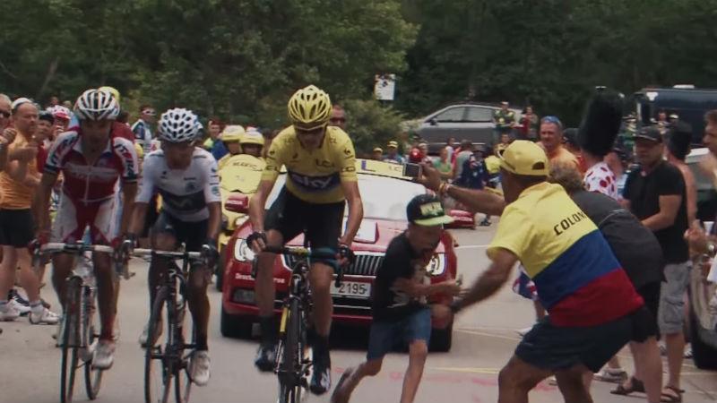 Respeten a los ciclistas que el show debe continuar