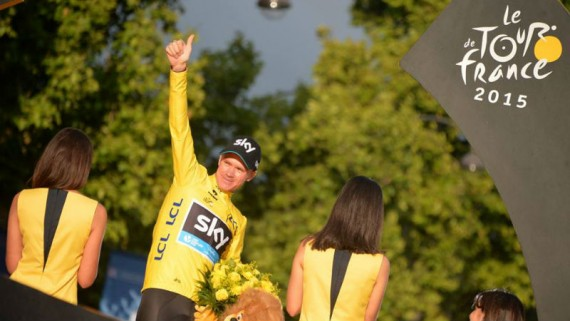 Chris Froome gano el Tour de France 2015