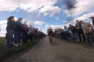 Cámaras a bordo en Paris Roubaix 2016