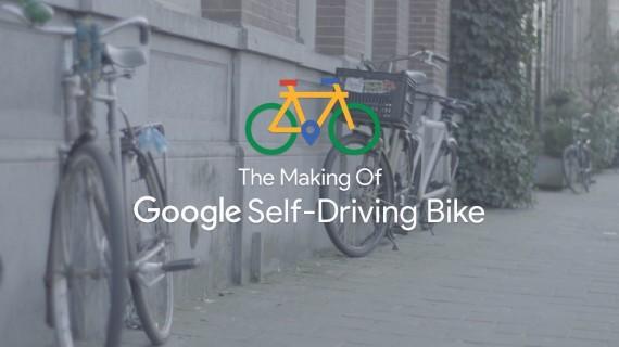 La bicicleta de google que se maneja sola es falsa
