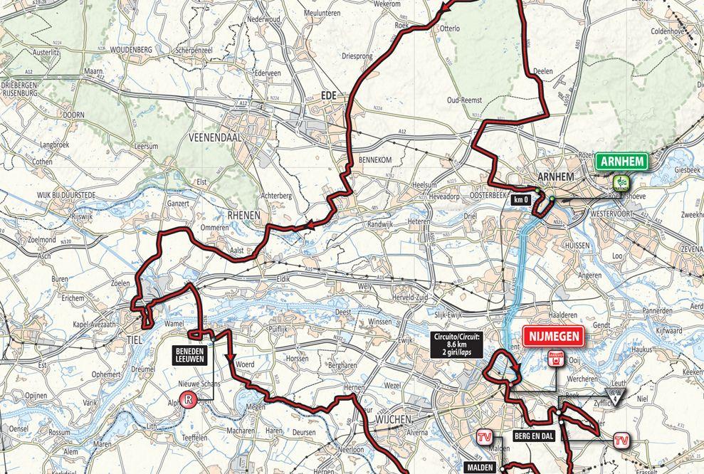 Mapa Cómo es la etapa 2 del Giro dItalia 2016