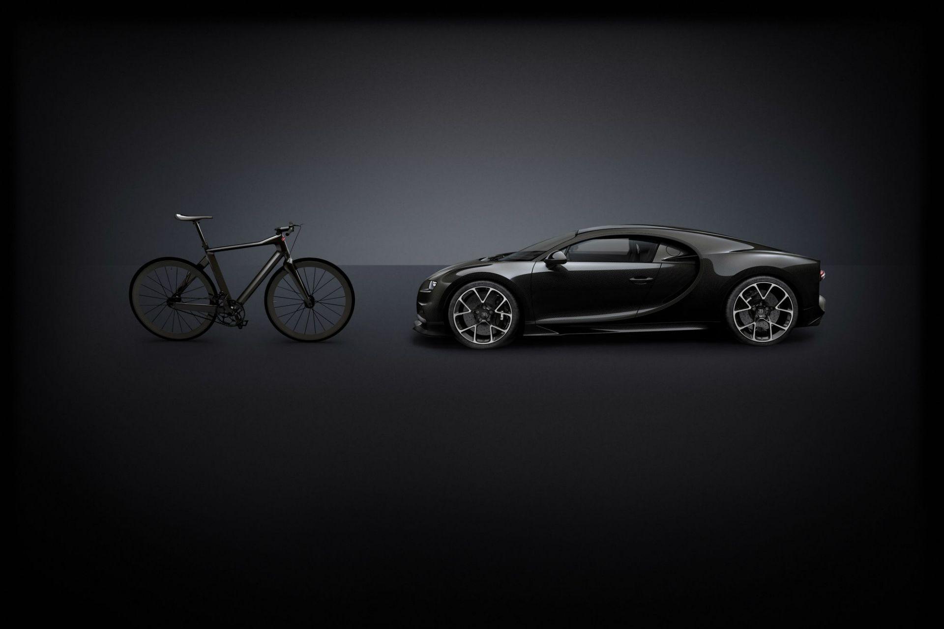 La bicicleta mas cara y liviana del mundo es Bugatti